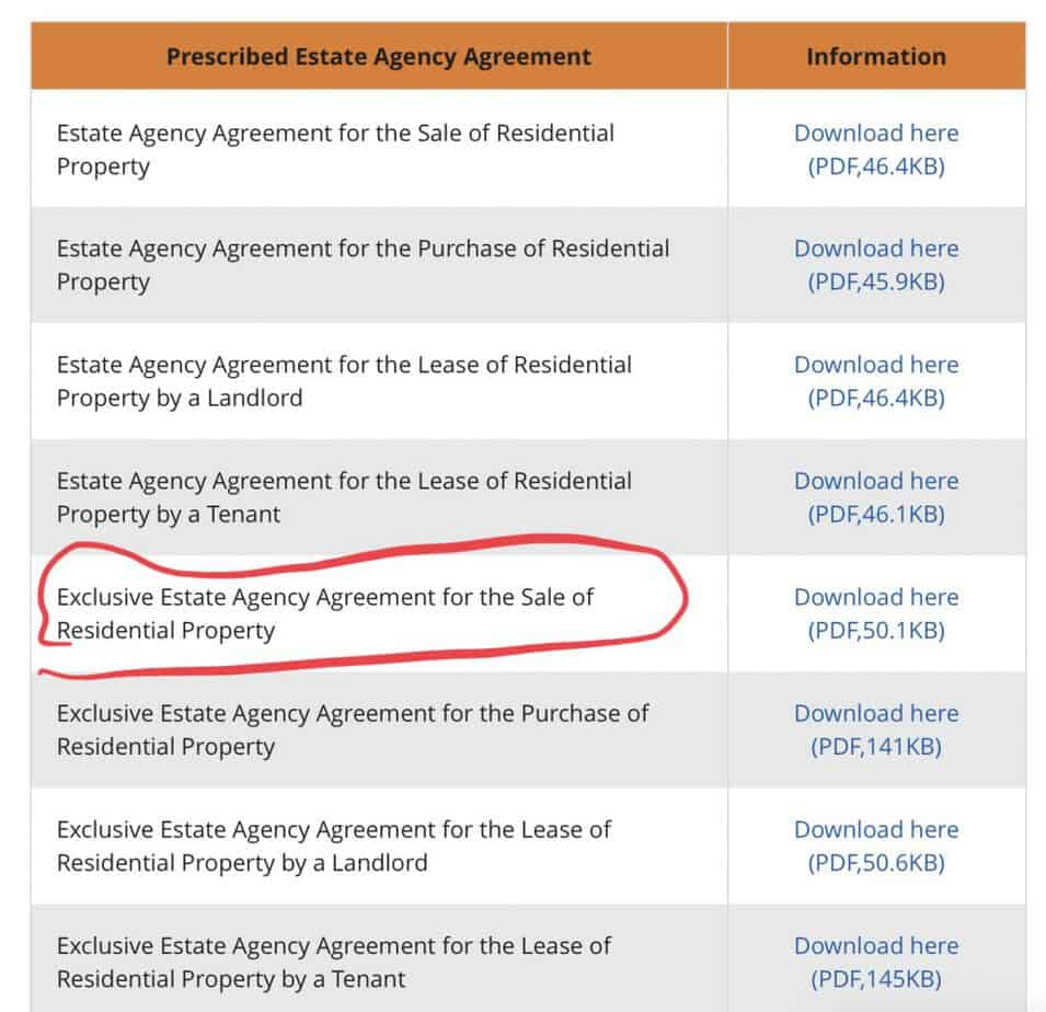 8 CEA real estate agreements
