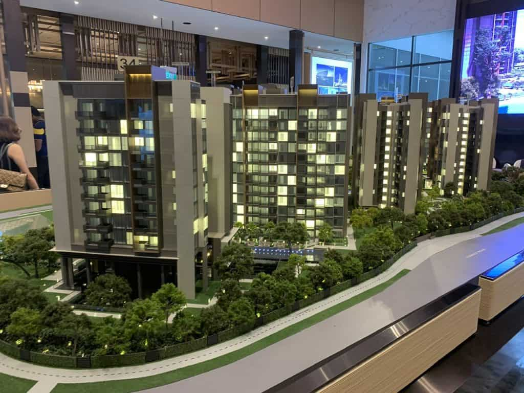 Leedon Green is an example of good new launch for foreigners