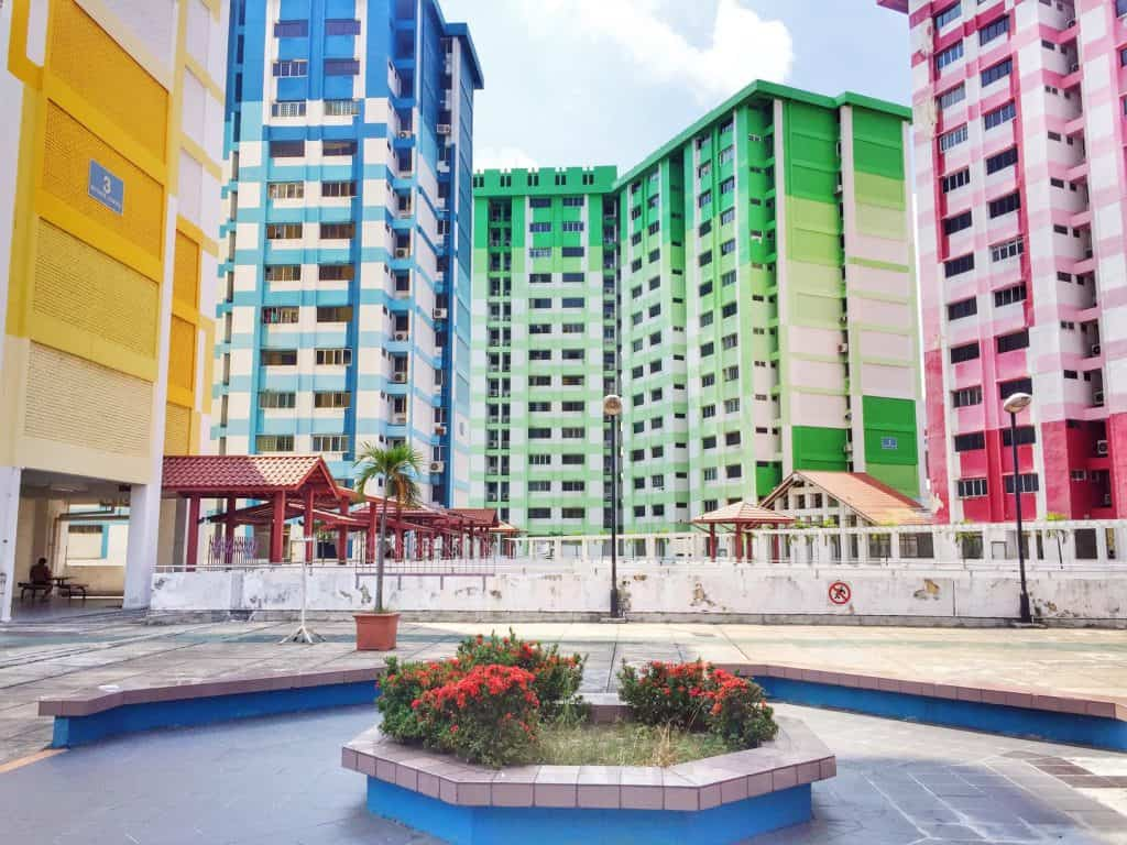 Public Housing in Singapore is nice